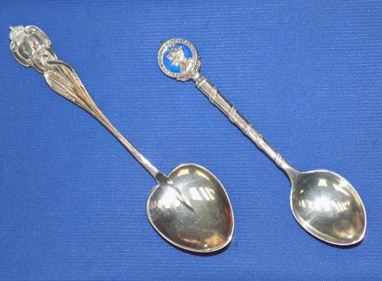 Two sterling silver hallmarked spoons