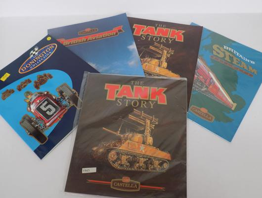 Selection of collectable card books