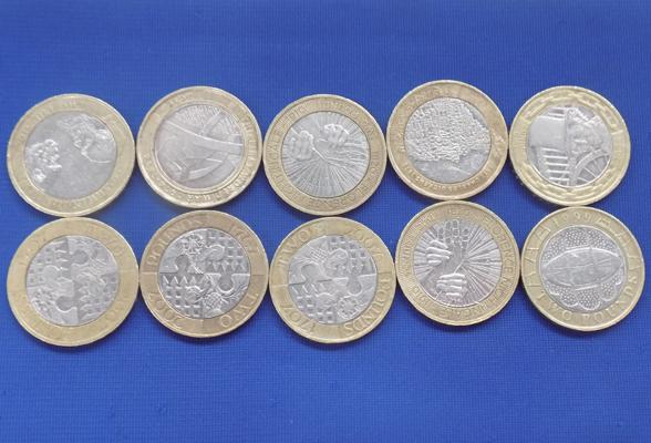 Good selection of £2 coins-collectors coins. Sold in aid of Alzheimer's charity