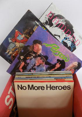 "Over 80 7"" singles in picture sleeves, Rock, New  Wave, Pop, Punk & Indie"
