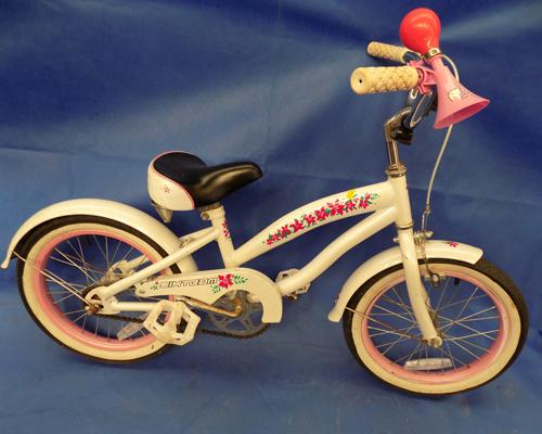 Girl's bike - for age 4-8 years