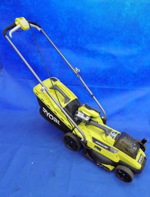 Ryobi quick-mow and battery mows with battery and charger W/O