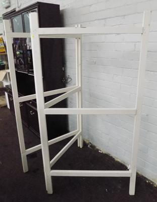 Home made clothes horse - 156cm tall and 80cm wide -  opens to 3 levels