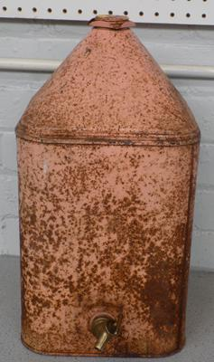 Old paraffin can