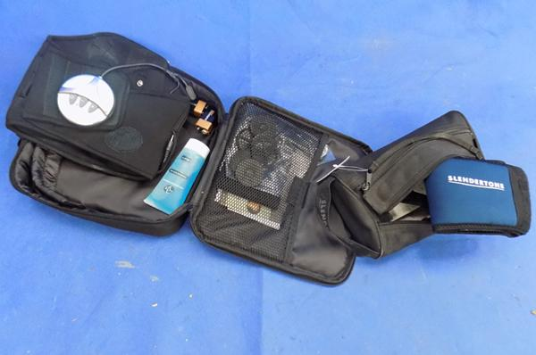 Slendertone body belt and 1 other