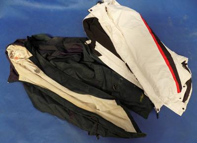 Waterproof jackets - Trespass size L & Step Ahead size L, both as seen