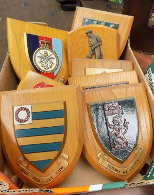 Box of Crest plaques