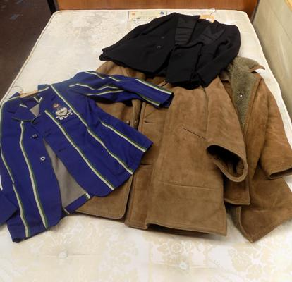 Selection of vintage coats