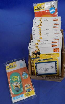 Box of Minions Scribblers & Space Ball
