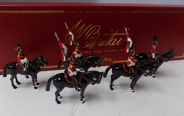 Britains special collectors edition 'The 16th Lancers' no 00076 boxed