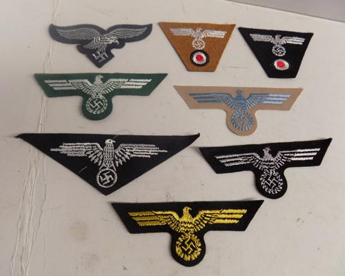 Nazi cloth badges