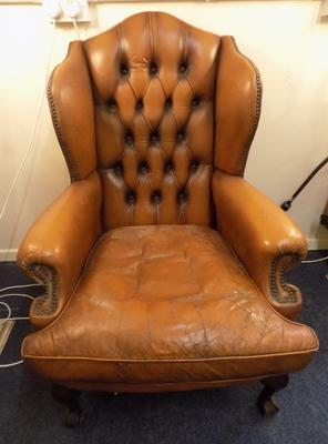 Chesterfield fireside chair