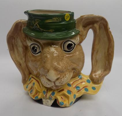 Royal Doulton March Hare character jug D6776 by William K Harper
