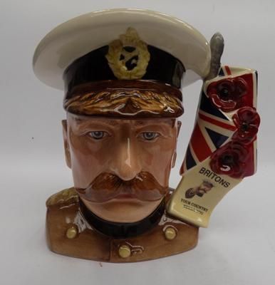Royal Doulton Lord Kitchener character jug D7148 limited edition 1500 by David D Biggs