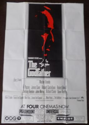 "Original Godfather poster - approx. 60"" x 40"""