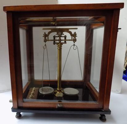 "James Woolley Sons & Co Ltd c1800 antique scales 16.5"" x 14.5"""