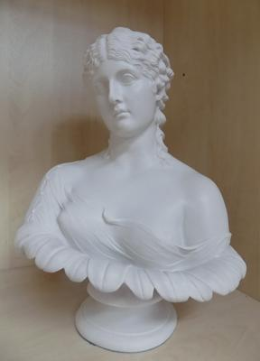 "Bust of Clytie 13.5"" x 8"" restoration to back"
