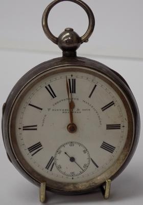 Antique pocket watch-Fattorini & sons Bradford
