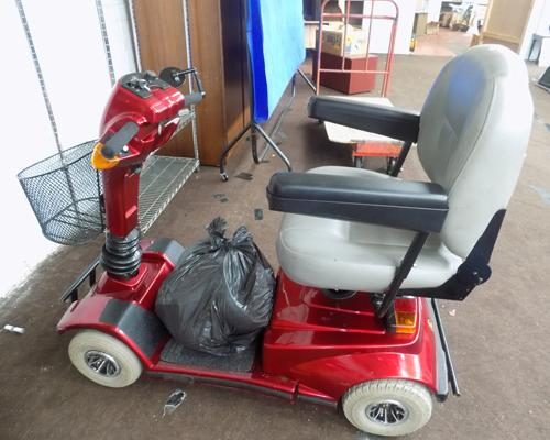 Legend Pride scooter - new batteries, no charger, sold as seen - untested