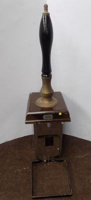 Vintage 'Angram' brass handled beer pump