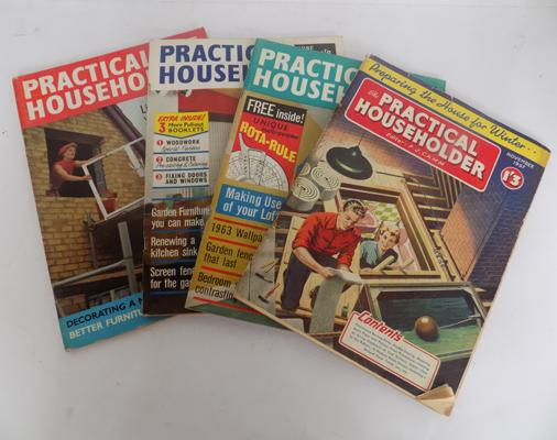 Selection of 1950's Practical Householder magazines