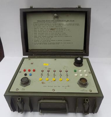 Military electrics testing box