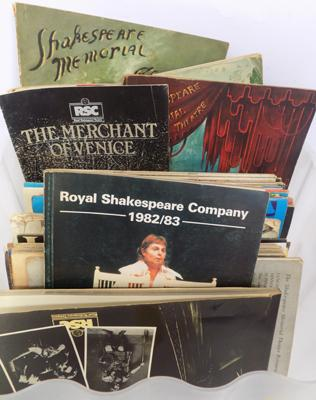 Selection of Shakespeare theatre booklets