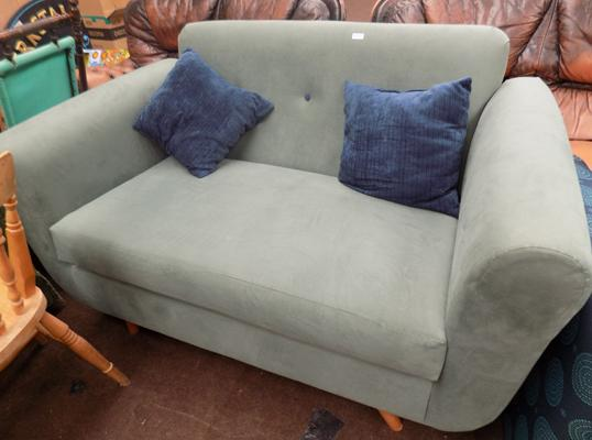 Modern two seater sofa