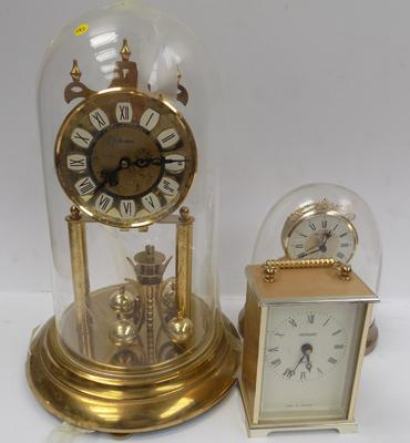 Three clocks - incl. carriage