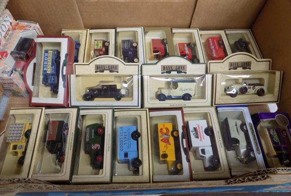 Collection of 20 boxed diecast cars & vans