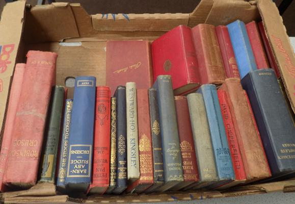 Box of old children's books