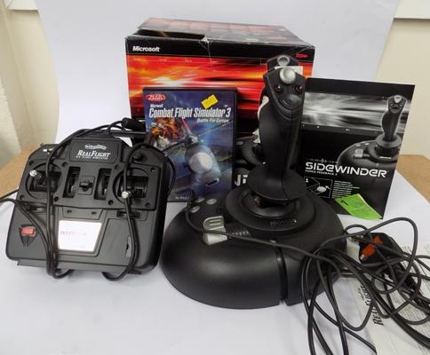 Sidewinder Joystick & game