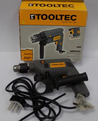 Tooltec drill, new in box