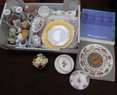 Selection of mixed ceramics incl. Aynsley, Wedgwood & Denby
