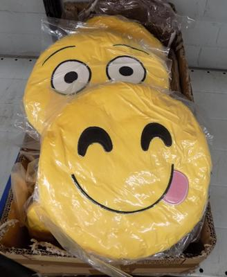 Box of Emoji cushions