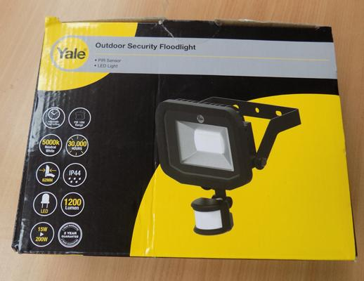Yale security light