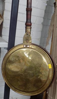 Vintage brass bed pan