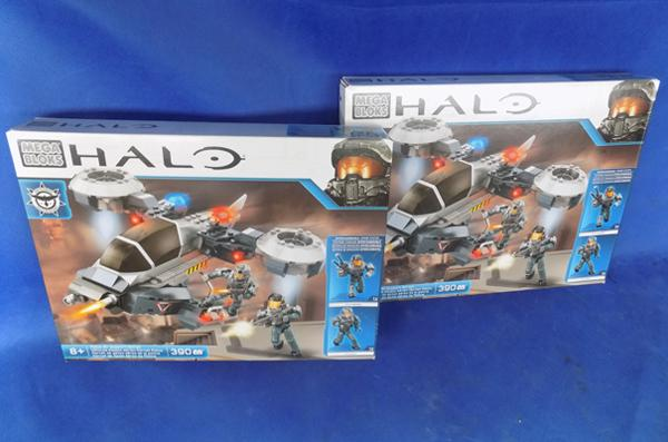 2x Halo mega blocks - Police model
