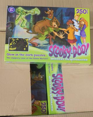 Ten Scooby Doo puzzles