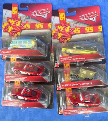 Disney Cars Birthday diecast