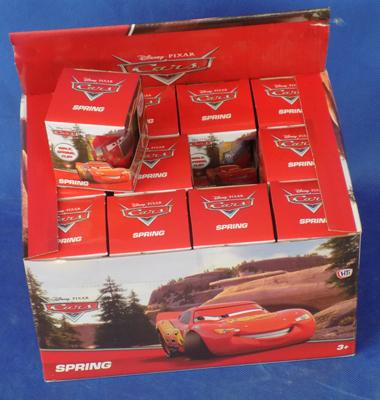 24x Disney Cars spring slinkies