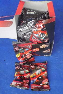36x Disney Cars diecast Mini Racer blind bags