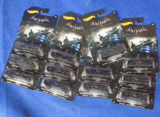 12x Batman Hot-Wheels
