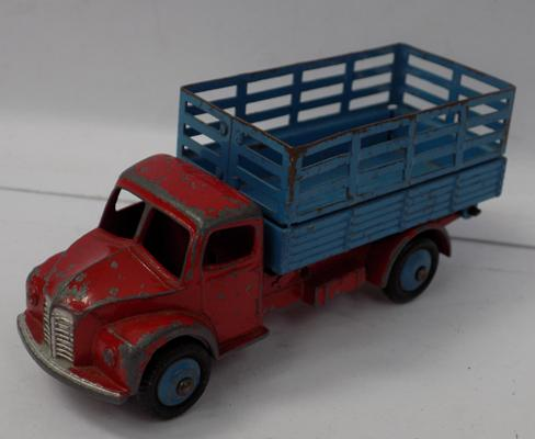 Dinky 1940's Dodge produce truck with tipping back
