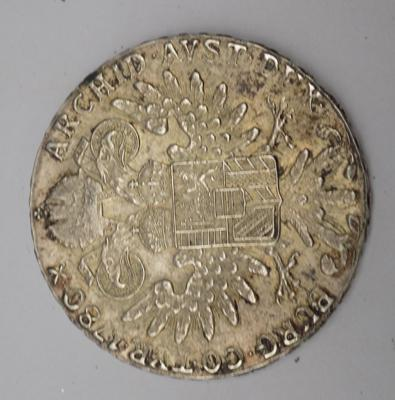 One ounce Thaler, dated 1780