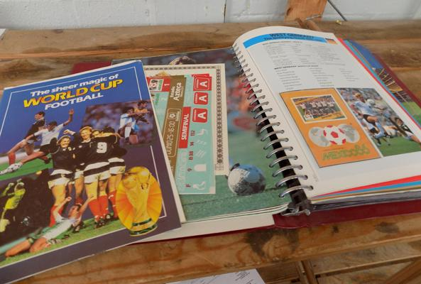 World Cup masterfile stamp album