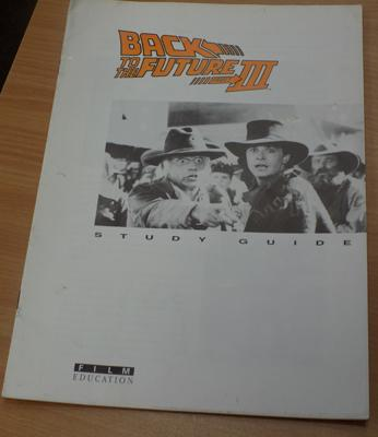 Back to the Future 3 study guide