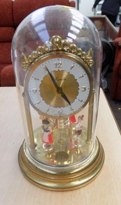 Dome clock - working order, but slightly loses time