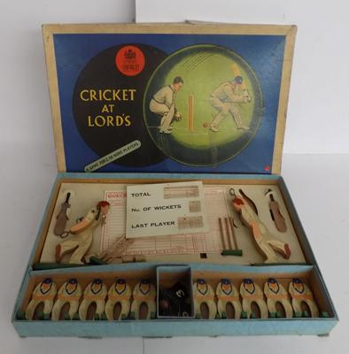 Vintage Chad Valley Cricket at Lords game - in good condition