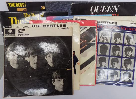 Selection of collectable records - incl. Beatles